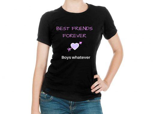 Best Friend Forever Boys Whatever T-shirt