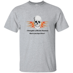Brain Tumor Skull T-Shirt Kids