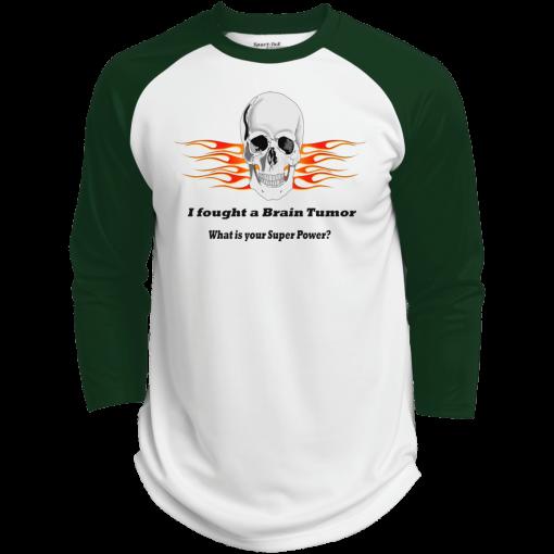 Brain Tumor Skull Baseball Jersey Unisex