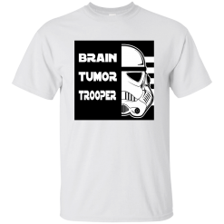 Brain Tumor Trooper Kids T-Shirt