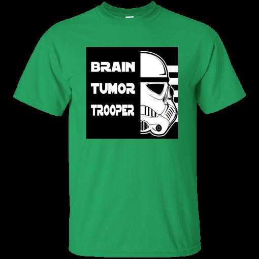 Brain Tumor Trooper Kids T-Shirt