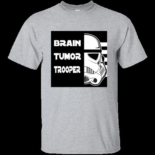 Brain Tumor Trooper T-Shirt Mens