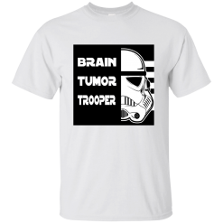 Brain Tumor Trooper T-Shirt Mens