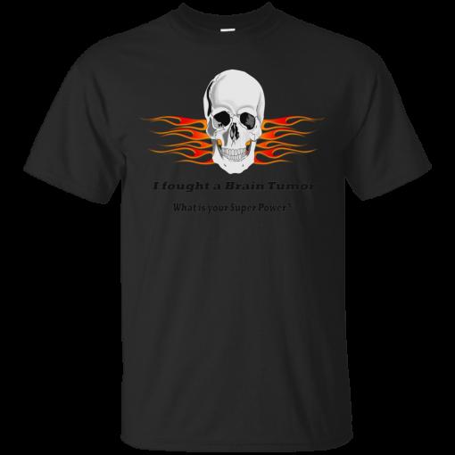 Brain Tumor Skull Unisex T-Shirt