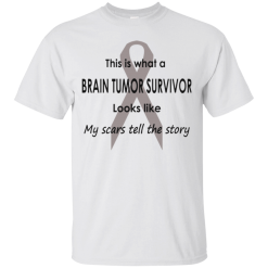 Brain Tumor Survivor The Story T-Shirt Mens