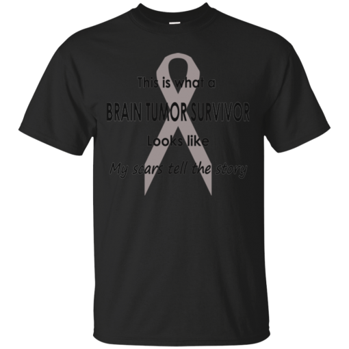 Brain Tumor Survivor The Story T-Shirt Mens