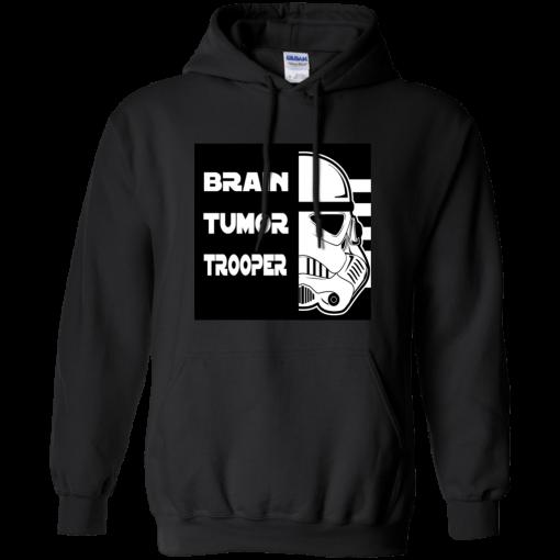 Brain Tumor Trooper Unisex Hoodie