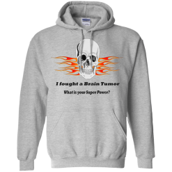 Brain Tumor Skull Unisex Hoodie