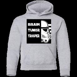 Brain Tumor Trooper Kids Hoodie