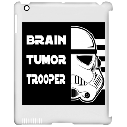 Brain Tumor Trooper iPad Clip Case
