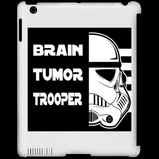 Brain Tumor Trooper iPad Clip Case