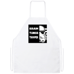 Brain Tumor Trooper Apron