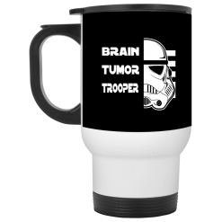 Brain Tumor Trooper Travel Mug