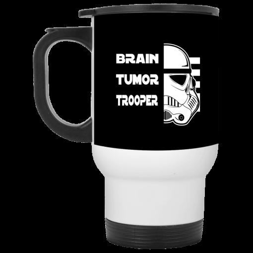 Brain Tumor Trooper Travel Mug