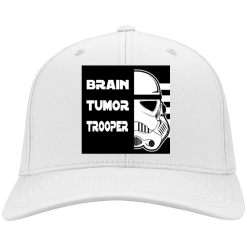 Brain Tumor Trooper Port & Co. Twill Cap