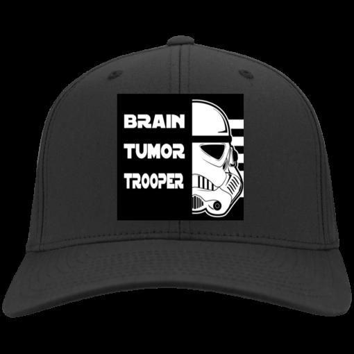 Brain Tumor Trooper Port & Co. Twill Cap