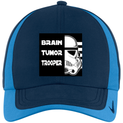 Brain Tumor Trooper Nike Colorblock Cap