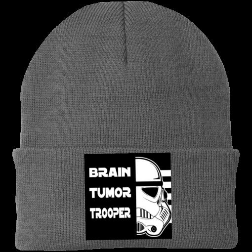Brain Tumor Trooper Port Authority Knitted Hat