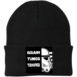 Brain Tumor Trooper Port Authority Knitted Hat