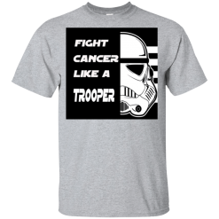 Fight Cancer Like A Trooper T-Shirt Kids