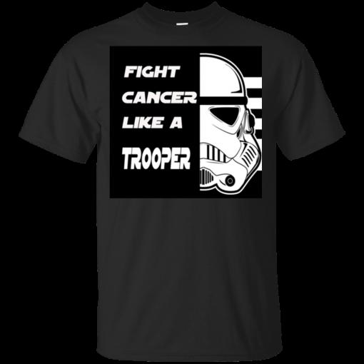 Fight Cancer Like A Trooper T-Shirt Kids