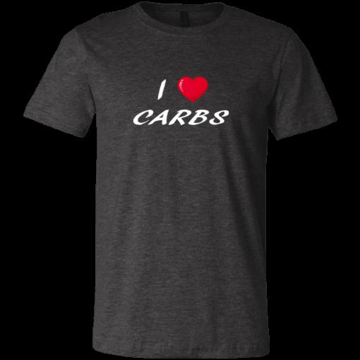 Unisex T-Shirt I Love Carbs