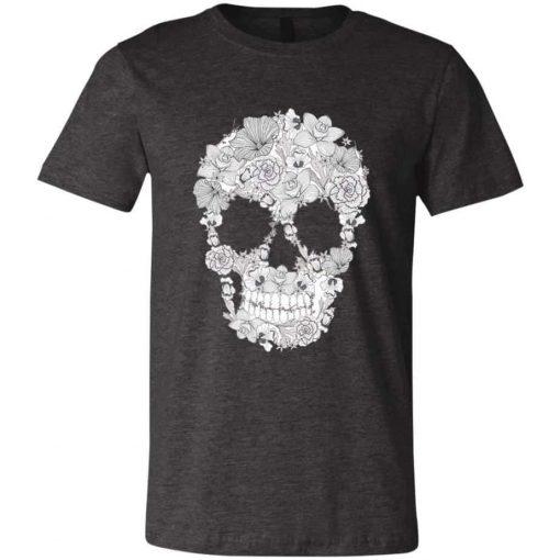 Unisex Sugar Skull T-Shirt Super Cool
