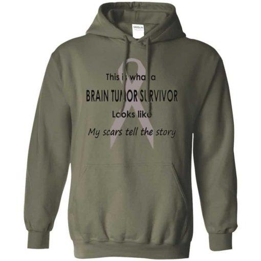 Brain Tumor Survivor The Story Hoodie Unisex