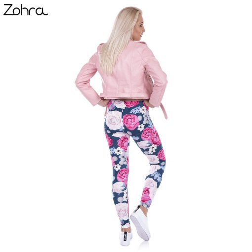 Wild Roses Fashion Leggings