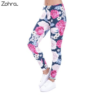 Wild Roses Fashion Leggings